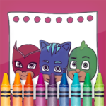 PJ Superheroes Masks Coloring APK (MOD, Unlimited Money) 2.4