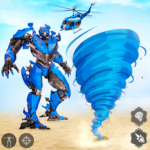 Tornado Robot games-Hurricane Robot Transform Wars APK (MOD, Unlimited Money) 1.2.7