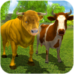 Wild Bull Family Survival Sim APK (MOD, Unlimited Money) 2.3