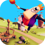 Catapult Shooter 3D💥: Revenge of the Angry King👑 APK (MOD, Unlimited Money) 1.0.19