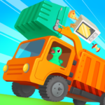Dinosaur Garbage Truck – Games for kids APK (MOD, Unlimited Money) 1.0.4
