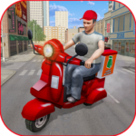 Moto Bike Pizza Delivery Games 2021: Food Cooking APK (MOD, Unlimited Money) 1.12