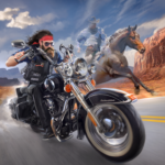 Outlaw Riders: War of Bikers APK (MOD, Unlimited Money) 0.3.4