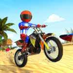 Beach Bike Stunts: Crazy Stunts and Racing Game APK (MOD, Unlimited Money) 5.5