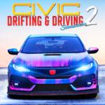 Drifting and Driving Simulator: Honda Civic Game 2 APK (MOD, Unlimited Money) 2.0
