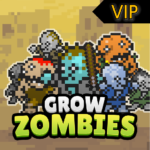 Grow Zombie VIP – Merge Zombies APK (MOD, Unlimited Money) 36.3.5