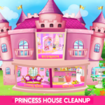 Princess House Cleanup For Girls: Keep Home Clean APK (MOD, Unlimited Money) 25.0.0