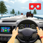 VR Traffic Racing In Car Driving : Virtual Games APK (MOD, Unlimited Money) 1.0.24