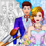 Wedding Coloring Dress Up – Games for Girls APK (MOD, Unlimited Money) 1.2