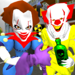 Clown Brothers. Neighbor Escape 3D APK (MOD, Unlimited Money) 1.5