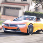 Driver BMW I8 Night City APK (MOD, Unlimited Money) 11.1