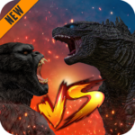 Godzilla & Kong 2021: Angry Monster Fighting Games APK (MOD, Unlimited Money) 4