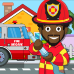 Pretend my Fire Station: Town Firefighter Life APK (MOD, Unlimited Money) 1.4