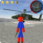 Stickman Spider Rope Hero Gangstar City APK (MOD, Unlimited Money) 6.0s