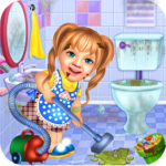 Sweet Baby Girl Cleaning Games 2021: House Cleanup APK (MOD, Unlimited Money) 1.0.5
