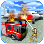 American Fire Fighter 2019: Airplane Rescue APK (MOD, Unlimited Money) v0.8