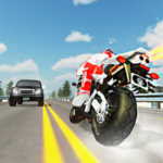 Extreme Highway Traffic Bike Race :Impossible Game APK (MOD, Unlimited Money) 1.0