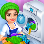 Laundry Shop Clothes Washing Game (Mod) 1.23