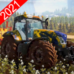 New Tractor Drive 2021:Offroad Sim Farming Games APK (MOD, Unlimited Money) 1.03