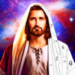 Jesus Coloring Book, Color by Number Paint Games (Mod) 2.5