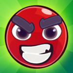 Red Bounce Ball: Jumping and Roller Ball Adventure (Mod) 1.29