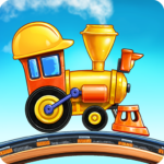 Train Games for Kids: station & railway building (Mod)3.2.11