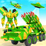 US Army Robot Missile Attack: Truck Robot Games (Mod) 35