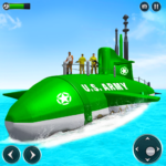 US Army Submarine Driving Military Transport Game (Mod) 3.6