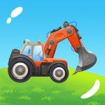 Build a House with Building Trucks! Games for Kids (Mod) 1.19