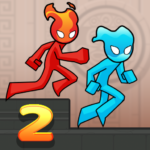 Fire and Water Stickman 2 : The Temple (Mod) 0.3.4