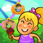 Kiddos in Amusement Park – Free Games for Kids (Mod) 1.0.7