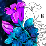 Coloring Book: Color by Number Oil Painting Games (Mod) 1.551