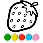 Fruits and Vegetables Coloring Game for Kids (Mod) 1.2