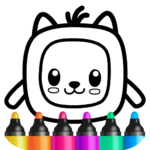 Pets Drawing for Kids and Toddlers games Preschool (Mod) 1.2.2.7